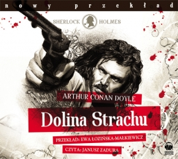 Dolina Strachu, Arthur Conan Doyle - audiobook płyta CD - mp3