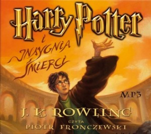 Harry Potter i Insygnia Śmierci, J.K. Rowling - audiobook płyty CD mp3