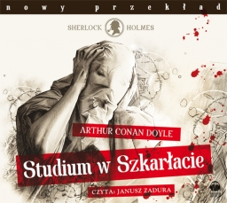 Studium w szkarłacie, Artur Conan Doyle - audiobook CD mp3