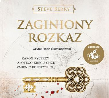 Pakiet Cykl o Cottone Malone, Steve Berry - audiobooki na płytach CD mp3