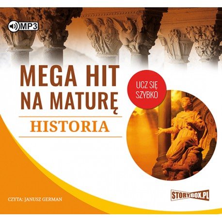 Mega hit na maturę. Historia - audiobook CD mp3