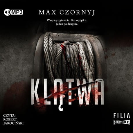 Klątwa, Max Czornyj - audiobook CD mp3