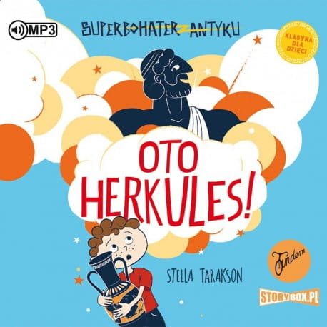 Superbohater z antyku. Tom 1. Oto Herkules, Stella Tarakson - audiobook CD mp3