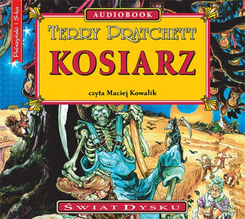 Kosiarz, Terry Pratchett - audiobook płyta CD mp3