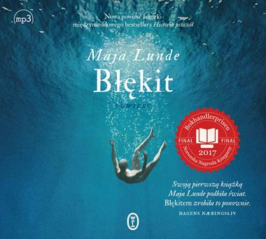 Błękit, Maja Lunda - audiobook na płycie CD mp3