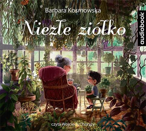 Niezłe ziółko. Barbara Kosmowska - audiobook CD mp3